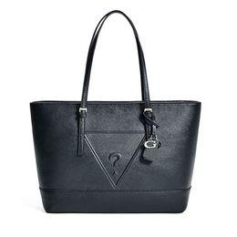 Wholesale Medium Leather Tote Bags - new arrival fashion women shoulder bag Cross pattern pu leather Handbag Colors SKUGU063