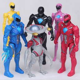 Wholesale Armor Joint - Action figures 6 models led lights with extraordinary armor armor five beast joints mobile hands doll doll 10cm-13cm