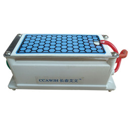 Wholesale Ozone Generator Ceramic Plate - Long Life 5g Ceramic Plate Ozone Generator For Air Purification Sterilization Deodorization 1pc Starts + Free Shipping