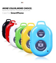 Wholesale Timer For Wireless - Universal Wireless Camera Controller Bluetooth Remote Self-timer Shutter Cellphones Tablet For Samsung Galaxy S4 S5 Note 3 Smartphones