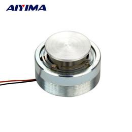 Ohmios de altavoz online-Venta al por mayor- 2 pulgadas 4 ohmios 25 W altavoz altavoz de vibración de 50 mm de resonancia altavoces estéreo súper sonido de audio