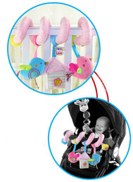 Wholesale Round Baby Beds - Wholesale- High Quality Baby Plush Multipurpose Bed Circle Round Bird Baby Girl Boy Toys