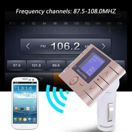 2019 mini rádio usb remoto Mini Cores de Terceira Geração de 1.4 Polegada Display LCD Sem Fio Bluetooth V 3.0 Estéreo Do Carro de Áudio MP3 Player Transmissor FM