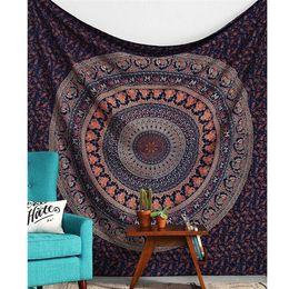 Wholesale wall tents - Wall Hanging Indian Bohemian Mandala Tapestry Sandy Beach Picnic Throw Rug Blanket Camping Tent Travel Mattress Sleeping Pad