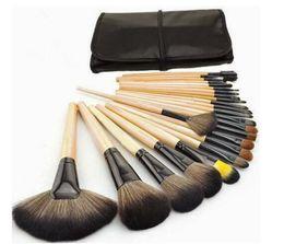 Nouvelle arrivée cosmétiques pinceaux pour lèvre de fard à paupières sourcil et ainsi de suite avec 24 pcs dans un sac Doux Fondation Ovale Maquillage Brush Sets DHL gratuit ? partir de fabricateur
