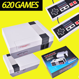 Wholesale Wholesale Classic - Mini TV Video Handheld Game Console Entertainment System Built-in 500 600 620 Classic Games For Nes Games PAL NTSC OTH002