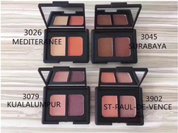 Paleta de moda on-line-Best selling Nova Marca de Moda 4 Cores Blush paleta de cosméticos Bronzers Blush 12 PCS
