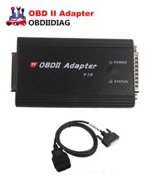 Wholesale Obd Ii Programmer - DHL Free Shipping OBD II Adapter Plus OBD cable Works with CKM100 and DIGIMASTER III for Key Programming