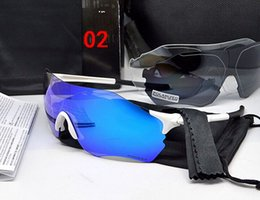 Wholesale Polarized Cycling Sunglasses Women - New 3 Lens Men Women Polarized Full Revoed Cycling Glasses Bicycle Sports Brand Sunglasses Rad ar Outdoor EV EVzero Goggles
