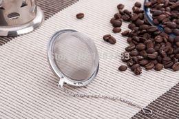 Wholesale Best Cast Iron - Best Price 100pcs lot Stainless Steel Tea Pot Infuser Sphere Mesh Strainer Ball 5cm