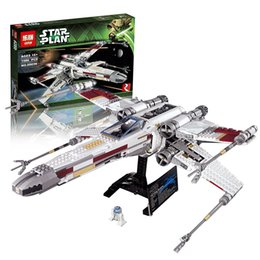 Wholesale STAR WARS RED FIVE X WING STARFIGHTER LEPIN BLOCKS LEPIN BRICKS