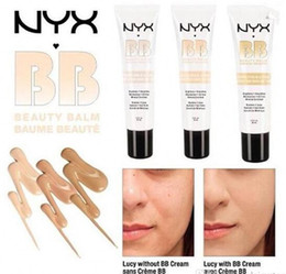 Wholesale Mineral Bb Cream - 2017 Latest NYX BB Cream Concealer beauty balm baume beaute brightens smoothes moisturizes oil free Mineral Enriched 30ml 4 Colors