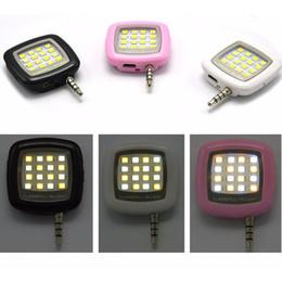 Canada Mini nuit rechargeable portable utilisant Selfie Flash améliorant la lumière LED Spotlight caméra s'allument renforcent lampe de remplissage pour tous les téléphones Offre