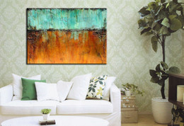 Wholesale Texture Wall Hand - Wall art 2017 Wholesale oil painting Home decoration painting Wall decoration art The thick bottom texture Hand art Single width