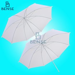 "Wholesale Umbrella Light Set - Wholesale- 2 x 33"" White Photography Light Photo Studio Video Translucent Soft Umbrella Set"