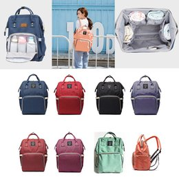 Wholesale Diaper Nappy Organizer - Wholesale Diaper Bags Mommy Backpack Nappies Backpack Fashion Mother Maternity Backpacks Outdoor Desinger Nursing Travel Bags Organizer