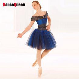 Wholesale Noble Child - Noble Tutu Ballet Professional Ballerina Dress Kids Women Classical Ballet Dance Costume For Child Adult Ropa De Balet DQ9011