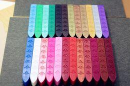Wholesale Glasses La - Wholesale-DIY Sealing Wax Sticks Retro Seal Stamp Winered Vintage Wax Stick Vino tinto Sellado Sax palillo sello de la cera de Sellos