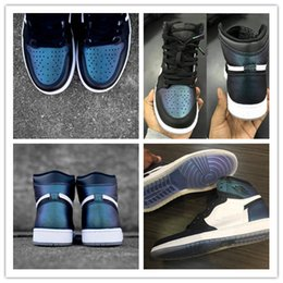 Wholesale Hi Basketball Shoes - 2017 Retro 1 HI OG AS BG High men basketball shoes women sports shoes athletic trainers sneakers size 36-44