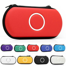 Wholesale Hard Carrying Case Cover Pouch - New Slim Travel Carrying Hard Cover Case Pouch Protector for Sony PSP 1000 2000 3000 Free shipping