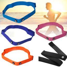 Wholesale Polar Heart Monitors - Blue Elastic Belt Strap Band Heart Rate Chest Belt for Garmin Wahoo Polar Sports Running Heart Rate Monitor for Bluetooth 4 0