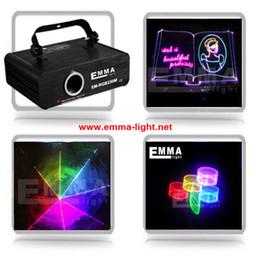 Wholesale Sd Ilda Laser - Wholesale- DMX+ILDA+SD+2D+3D Multi color mini 1w rgb laser light dj lights stage light  lazer light laser projector