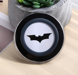 Wholesale Ironing Pads - iron man batman Qi Wireless Charger Pad Wireless Charger Dock Station For Samsung s7 s8 note 8 iphone x 8
