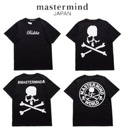 Wholesale Long Sleeves Brand Men Shirt - 2017 Mastermind Japan T shirt Men Women MMJ Japan Popular Brand Skeleton Summer Cotton T-Shirts Top Tees Mastermind Japan Tees
