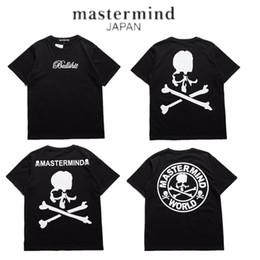 Wholesale Skeleton Woman - 2017 Mastermind Japan 1:1 T shirt Men Women MMJ Japan Popular Brand Skeleton Summer Cotton T-Shirts Top Tees Mastermind Japan Tees