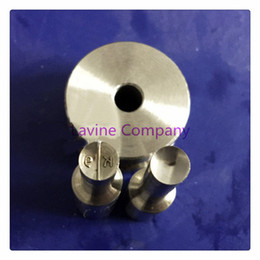 Wholesale Tablet Press Stamps - top sell K9 die molds stamp for candy tablet press mold pill maker 10mmTDP-0 1.5