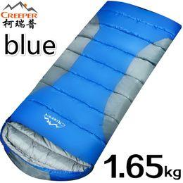 Wholesale Creeper Bags - Wholesale- Creeper Mini Ultralight Multifuntion Portable Outdoor Envelope Sleeping Bag Travel Bag Hiking Camping Equipment 1650g 3 Colors