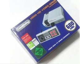 Wholesale Mini Usb Video Player - HD HDMI Out Retro Classic handheld game player Family TV video game console Childhood Built-in 600 Games For nes mini HDMI HD