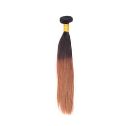 1 шт. образец бразильского ломбер волос плетение шелковистая прямая Реми человеческие волосы ткет углам волос очень хорошие связки cheap brazilian hair weave super от Поставщики бразильские волосы соткать супер