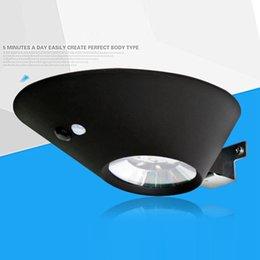 Wholesale Infrared Garden - Infrared waterproof light Fashion LED Sensor Solar Powered Light Outdoor Lamp Garden Waterproof Landscape Yard Lawn Wall Lamp