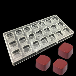 Высокое качество DIY ручной работы 5 стилей украшения шоколада поликарбонат PC плесень конфеты торт кухня пищевые контейнеры шоколад инструмент от
