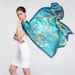 Wholesale Hangzhou Scarf - 2017 new Hangzhou silk scarf, silk fabric, silk scarf, gorgeous and noble
