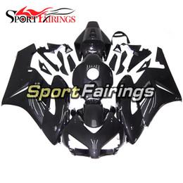 Wholesale Honda Fiber - Full Injection Carbon Fiber Black Fairings For Honda CBR1000RR Year 04 05 2004 2005 Motorcycle Fairing Kit Bodywork Motorbike Cowling