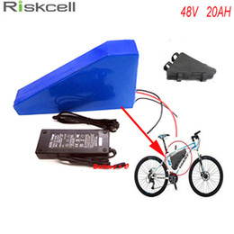 Wholesale rechargeable electric scooter - Free battery bag ebike lithium battery 48v 20ah lithium ion bicycle 48v electric scooter battery for kit electric bike 1000w