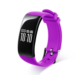 Wholesale Black Fitness Models - The new private model X16 heart rate monitoring sleep monitoring call to remind the Bluetooth Mobile Smart Bracelet sales