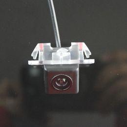 Wholesale Mitsubishi Backup Camera - For Mitsubishi Grunder Car Rear View Camera   Backup Parking Camera   HD CCD RCA NTST PAL   License Plate Light OEM