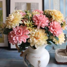 Wholesale Marigolds Flowers - Real touch european marigold decorative artificial Set Flowers home decoration wedding flowers table decoration flowers