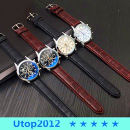 Wholesale Shipping Options - 50% Utop2012 NEW Free Shipping Hot Sale Mens Watch Top Brand Quartz Watch Stainless Steel watch 4 Options