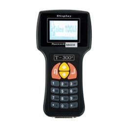 Ключ транспондера chevrolet онлайн-Профессиональный Универсальный автомобильный ключ программатор T300 новейшая версия T300 автоматический транспондер ключевой декодер T - код T300 английский или испанский