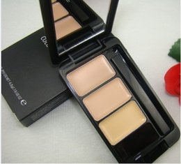 Wholesale Waterproof G Spot Free Shipping - Free shipping new makeup new product good quality lowest 3 color concealer 4.5 g 1 PC
