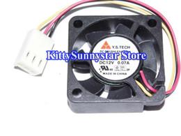 Wholesale Fan Drive - New Original Y.S.TECH 30*10mm 3CM FD123010LS FD123010LL-N FD123010107B 12V micro case fan for hdd switch