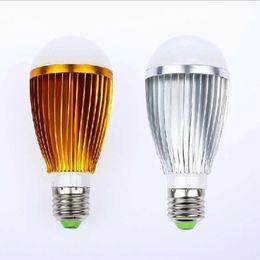 Wholesale Led Dimmable Balls - DHL Freeshipping E27 3x3W 9W 85-265V Led Bulbs Dimmable LED Lights Downlight Ball Lamp 20pcs Lot