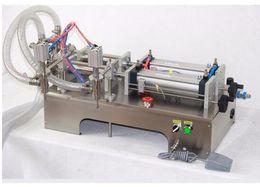 Wholesale Automatic Juice Machine - two nozzles pneumatic liquid filling pump machine 30-300 ml for liquid juice filler
