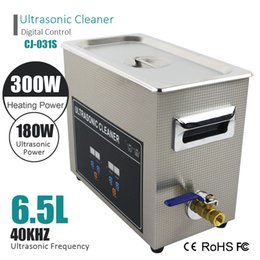 Wholesale Dental Jewelry - Smart Digital Ultrasonic Cleaner Wash Bath Stainless Tank Baskets 3L 120W 6L 180W 40KHz Ultrasound For Jewelry Glasses Watches Dental