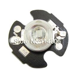 Wholesale 16mm Led - Wholesale- 20pcs lot 3W Royal Bule 445~450nm 45mil Chip LED Bead Light With 16mm Round Heatsink