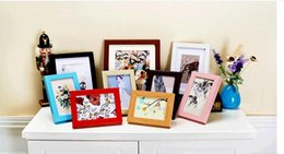 Wholesale Photo Frame Table - Multi-function rectangle Hot Selling Wholesale Cheap 13 Color 5 inch creative frame table id box wholesale